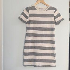 Zara stretch knit tee shirt dress